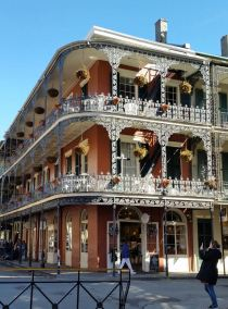 NOLA ornate iron lace porch railings
