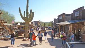 Goldfield Ghost Town on the Apache Trail