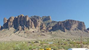 Superstition Mountains Apache Trail, Goldfield, AZ
