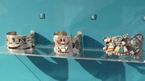 Flagstaff Arizona Attractions - Zuni jewelry on display at Museum of Northern Arizona