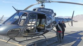 5 Star Helicopter Tours - Wendy and pilot Michele