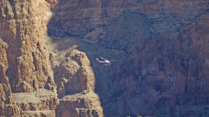 Grand Canyon small helicopter