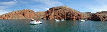 Lake Havasu - Rubba Duck Safari panoramic scenery