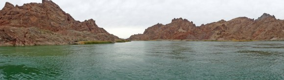 Lake Havasu rugged shoreline