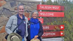Phoenix area - Taliesin West - front entrance