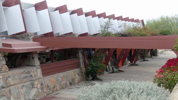 Taliesin West - drafting studio exterior