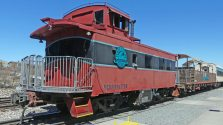 Verde Canyon Railroad caboose