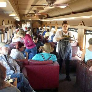 Verde Canyon Railroad - First Class passenger car