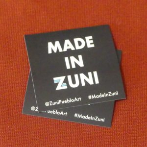 Label for Zuni-made products - Hallmark of authenticity