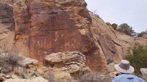 Zuni Petroglyphs at Great Kivas