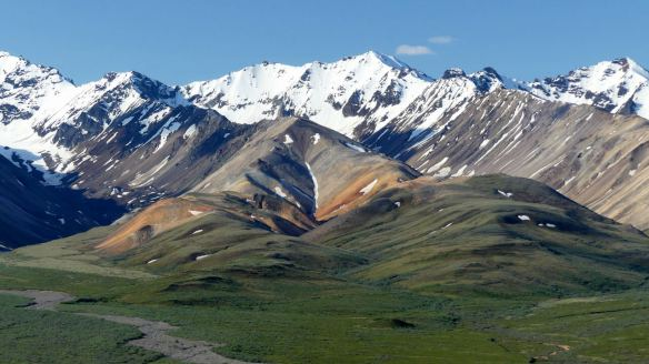 Polychrome Mountains