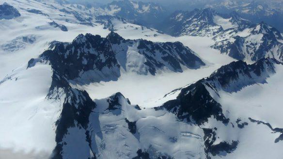 Flightseeing Tour over Glaciers in Aleutian Range