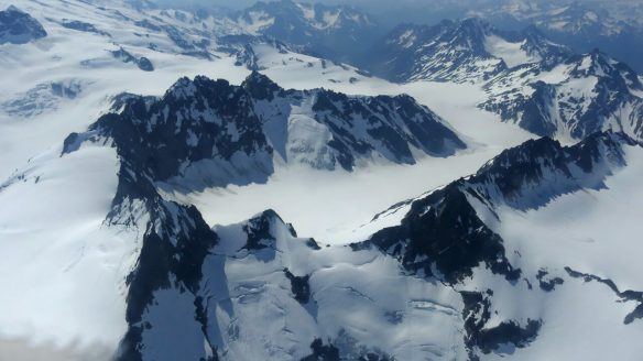 Flightseeing Tour over Glaciers in Aleutian Range