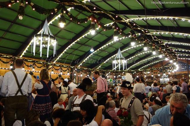 Inside Augustiner-Festhalle