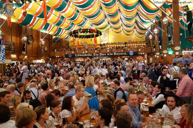 People at Schützen-Festzelt