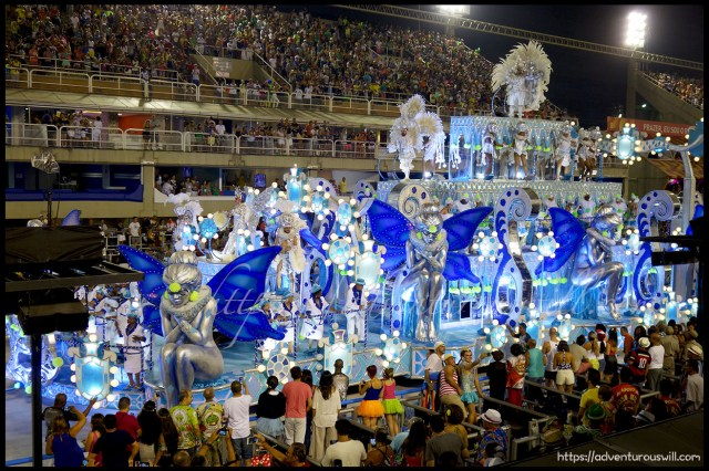 Carnival Samba Parade at the Sambadrome