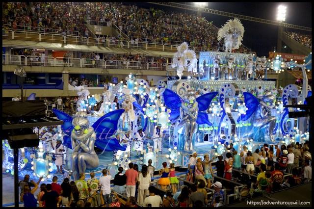 Carnival Samba Parade at the Sambadrome