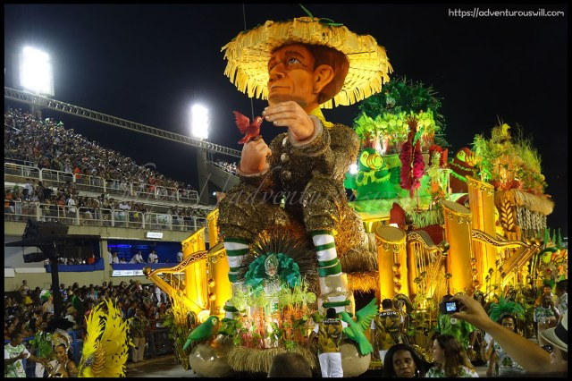 spectacular parades of floats
