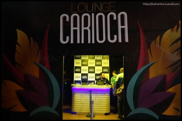 entrance to Lounge Carioca