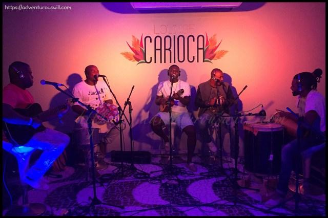 a Live Brazilian music