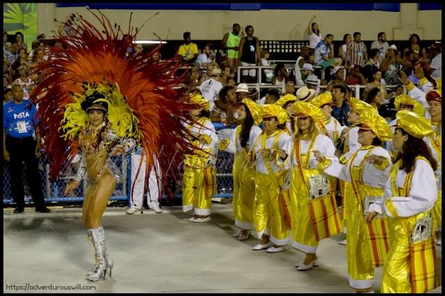 "Samba Dancer or ""Passista"""