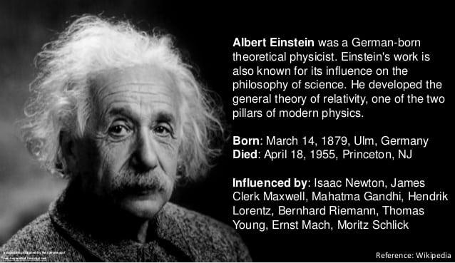 7 Great Albert Einstein Inventions Contributions That