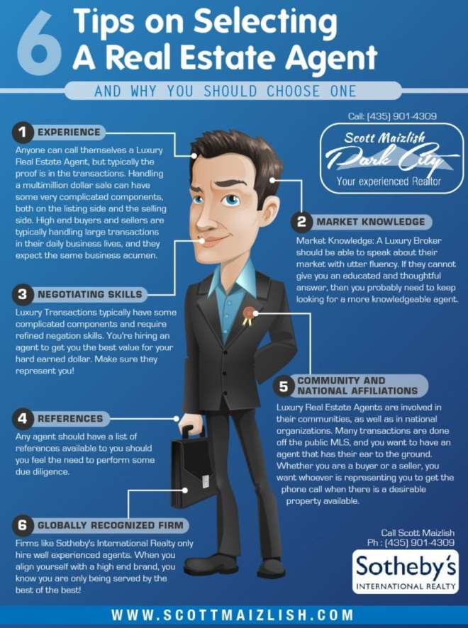 tips-to-select-real-estate-agents-slogans-infographic