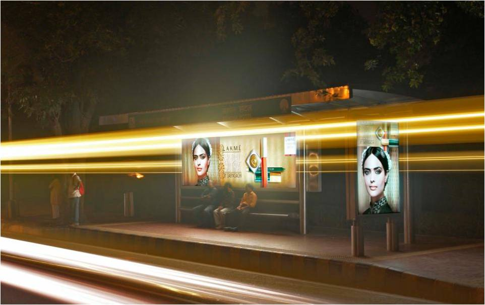 NDMC Bus Shelters - Adverlabs