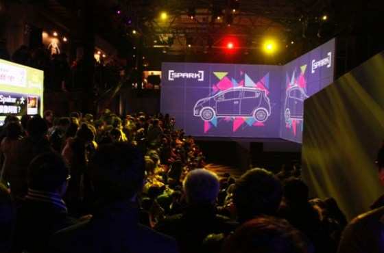 Chevrolet China - SPARK MYSELF Launch Party (Light Show) 6