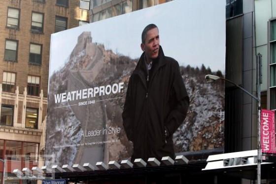 Obama Weatherproof