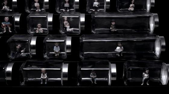 Keyboard of isolation