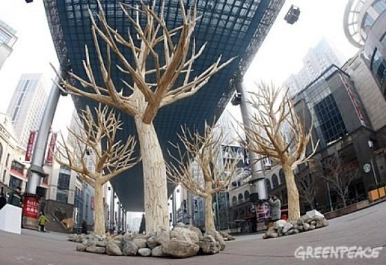 Greenpeace China - Chopstick Forest 5
