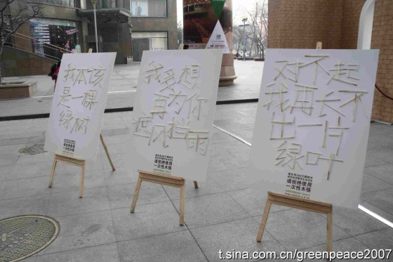 Greenpeace China - Chopstick Forest 9