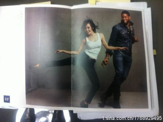 GAP China - Magazine advertising