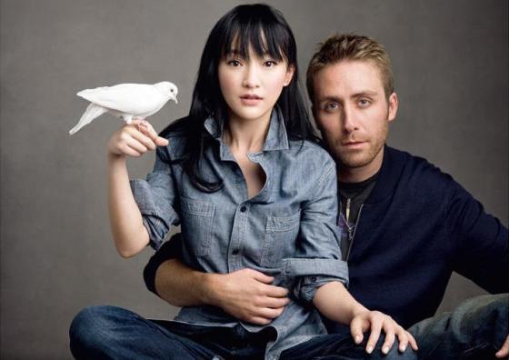 GAP China - Philippe Cousteau Jr and Zhou Xun