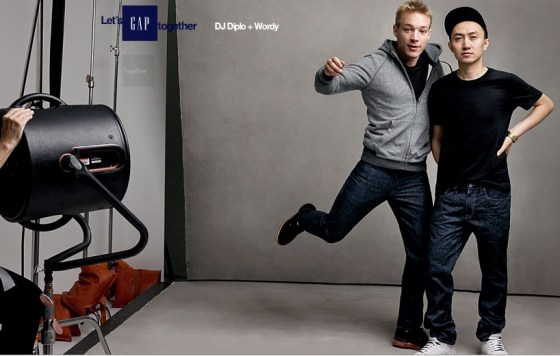 GAP China - DJ Diplo and DJ Wordy