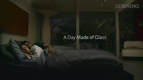 "Corning Incorporated's ""A Day Made of Glass"" short video becomes viral on the Chinese internet."