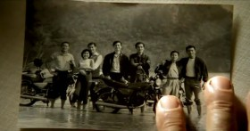 "Taiwan's TC Bank television commercial ""Dream Rangers"": An old photograph taken at the beach when they were young."