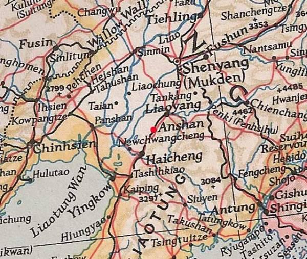 AnShan Map