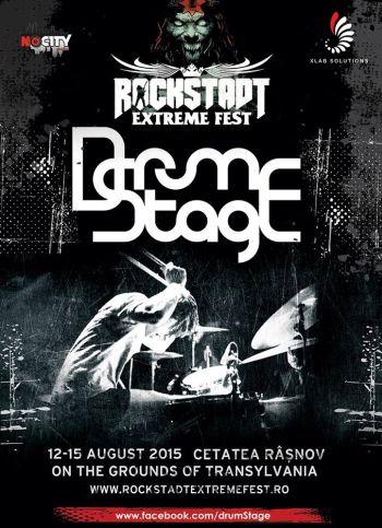 DrumStage - Rockstadt Extreme Fest 2015