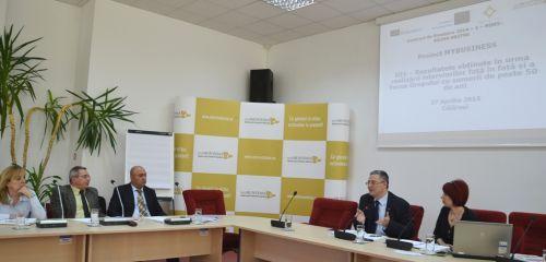 Focus grup cu echipa regională consultativă, organizat în cadrul proiectului MYBUSINESS