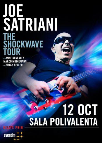 Joe Satriani revine in Romania