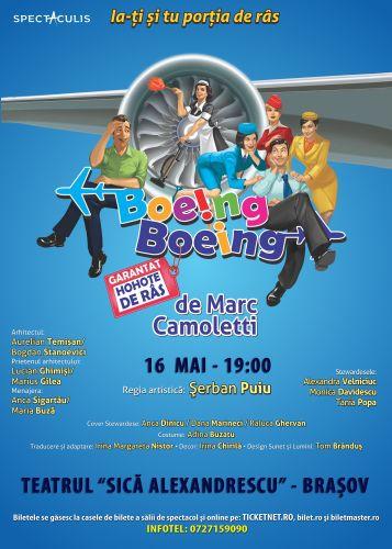 #Teatru | Boeing Boeing @ Brasov
