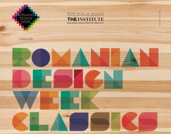 Romanian Design Week expune la Institutul Cultural Român