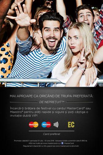 MasterCard si Maestro, cardurile preferate la Electric Castle 2016