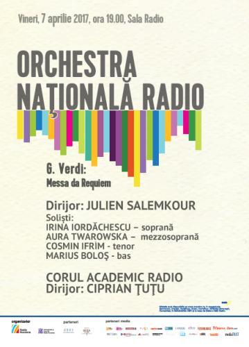 #Concert | Orchestra Națională Radio