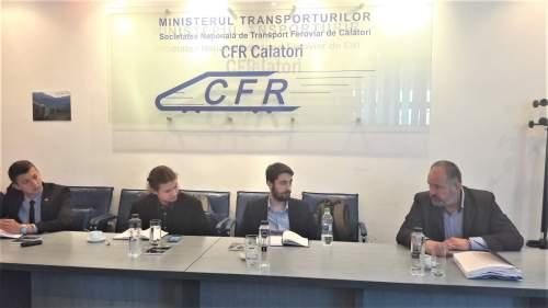 CFR: Întâlnire cu reprezentați ai studenților