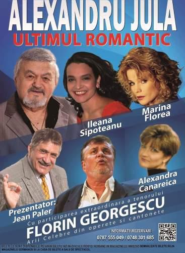 Alexandru Jula, Ultimul Romantic, în turneu național