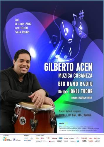 #Concert | Gilberto Acen Ortega alături de Big Band-ul Radio