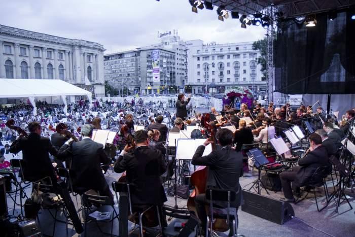 Orchestra Națională Radio și Orchestra de Cameră Radio, în Piața Festivalului Enescu